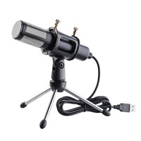 Yescom Condenser USB Microphone w/ Tripod Stand Game Chat Recording