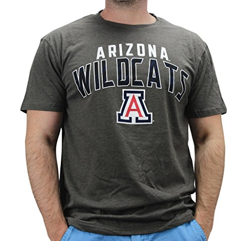 4th and 1 Men's Arizona Wildcats T Shirt Grey