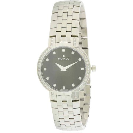 Movado Faceto Diamond Women's Watch, 0605586