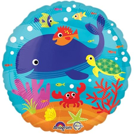 Loftus International A3-3587 18 in. Under the Sea HX Party Balloon](Halloween Party Nyc Under 18)