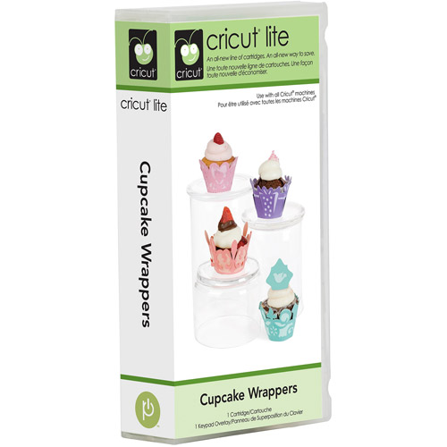 Cricut Lite Cartridge, Cupcake Wrappers