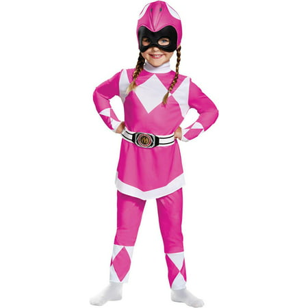 Pink Power Ranger Classic Baby Halloween Costume - Mighty Morphin