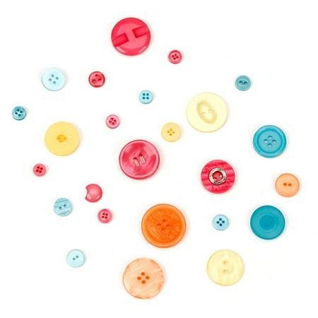 Assorted Summertime Buttons: 1/2 (Timer Button)