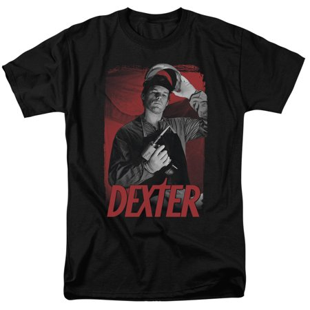 Dexter Horror Crime Drama Television Series Under The Mask Adult T-Shirt Tee