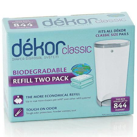 Diaper Dekor Biodegradable Refill - 2 Pack