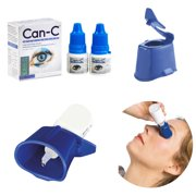 Can C, Can-C Eye Drops 2 x 5ml Vials with Eye Drop Guide