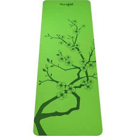 Yes4All Eco Friendly 100% TPE Yoga (Eco Fleece Mat)