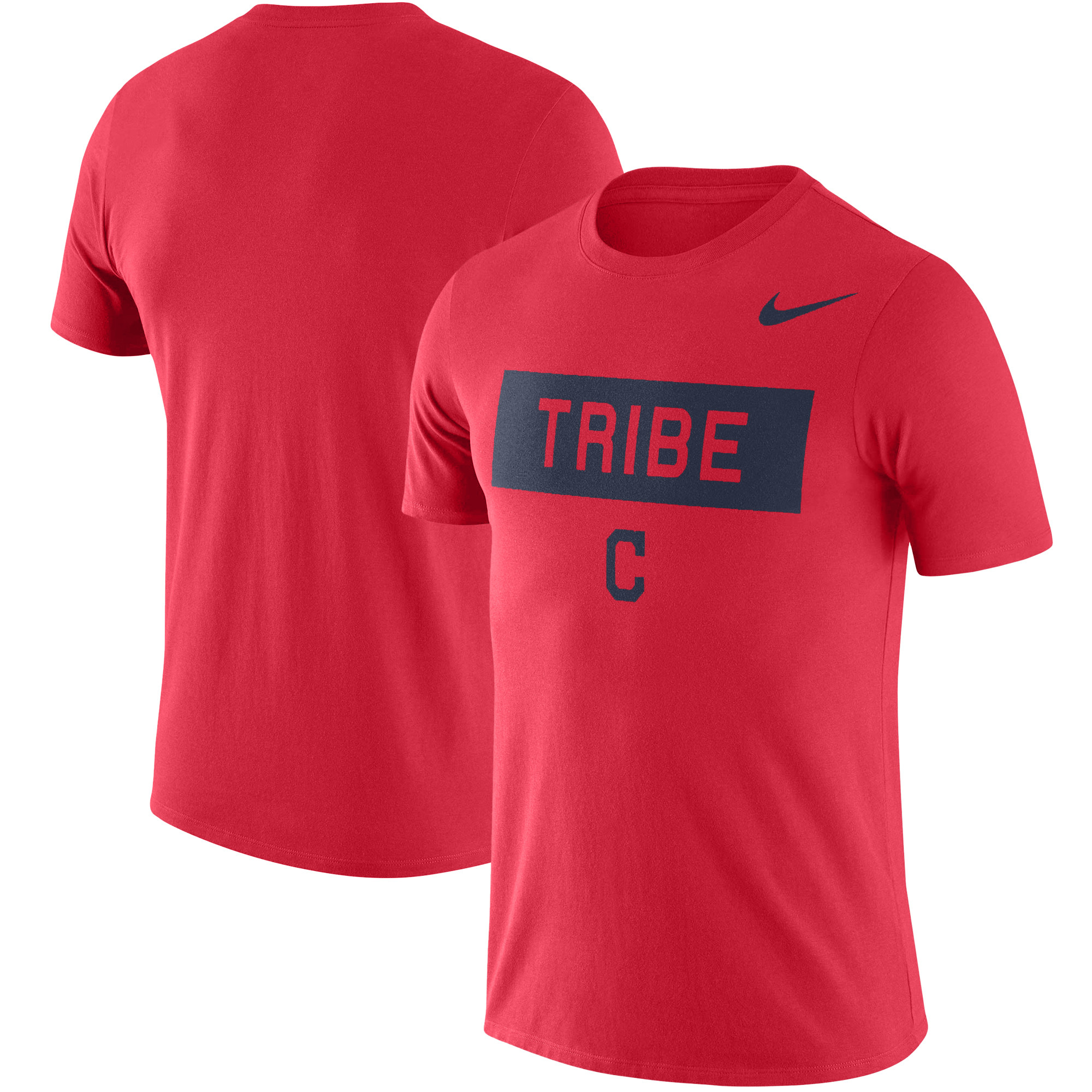 Cleveland Indians Nike Local Phrase Performance T-Shirt - Red
