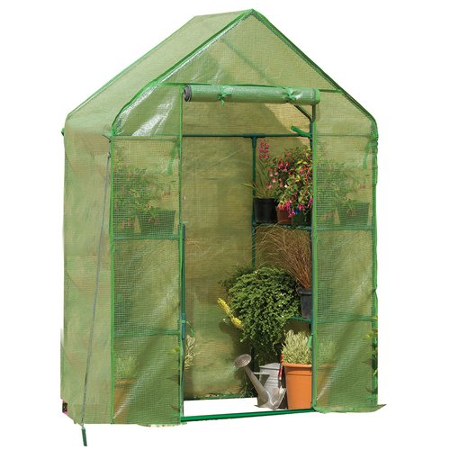 Compact Walk-In Greenhouse by Gardman USA Inc