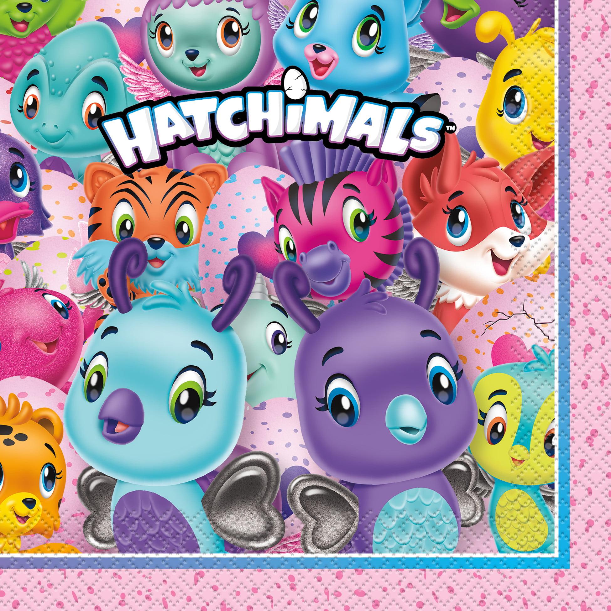 Hatchimals Paper Luncheon Napkins, 6.5 in, 16ct