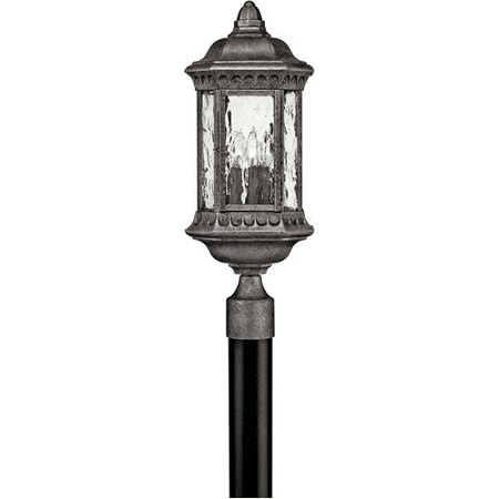 Granite Outdoor Post Mount (Rla Hinkley RL-88330 Outdoor Post Light Black Granite Cast Aluminum)