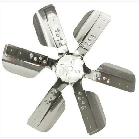 17218 18 In. Heavy Duty Stainless Steel Standard Rotation Flex Fan - image 1 de 1