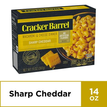 Cracker Barrel Sharp Cheddar Macaroni and Cheese Dinner, 14 oz (Best Thing At Cracker Barrel)
