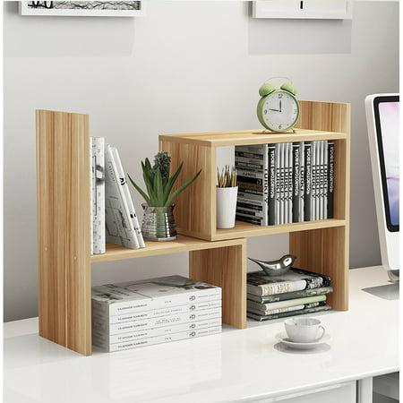 mini rack book school use desktop bookshelf wood bookcases bookshelves file literature online bookcase mobile uk home shop vertical compartments holder office