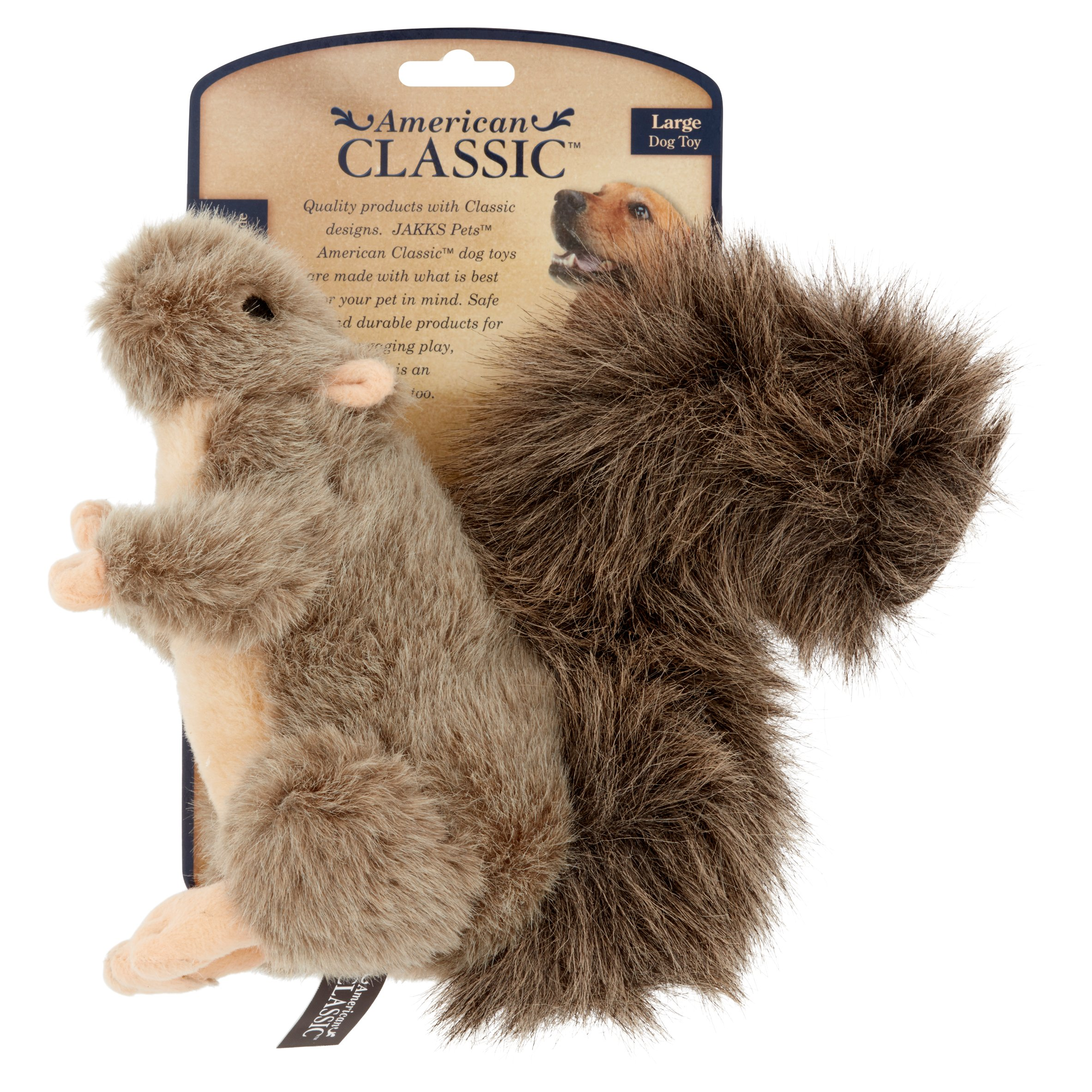American Classic Squirrel Large Dog Toy by Jakks Pacific, Inc.