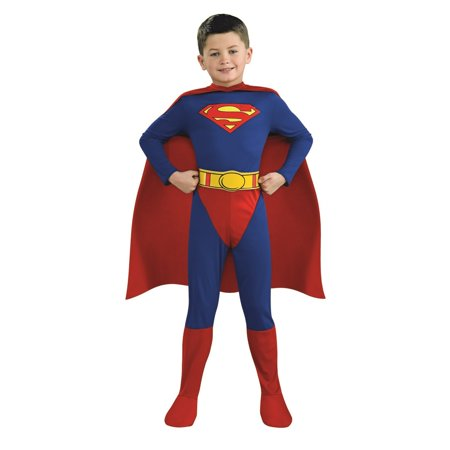 Boy's Superman Costume - Man Of Steel Authentic Costume