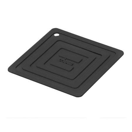 Lodge Silicone Pot Holder, Black, AS611 (Simple Pot Painting Designs On Black Pot)