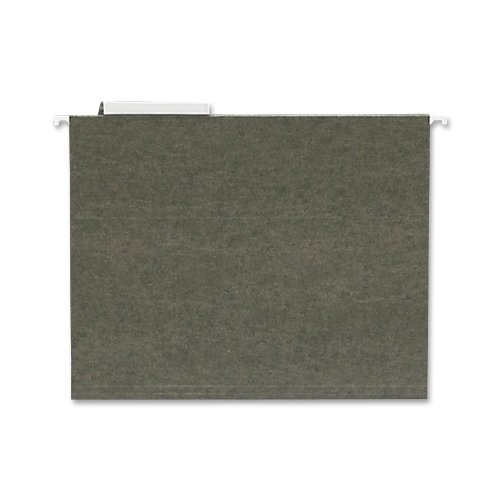 Sparco Products Hanging Folder, 1/3 Tab Cut, Letter, Standard Green