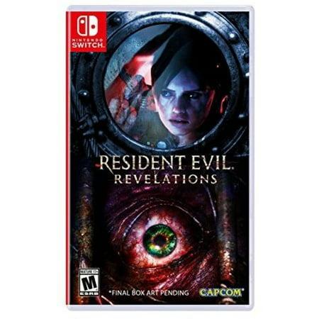 Resident Evil Revelations Collection for Nintendo Switch Capcom - Nemesis Mask Resident Evil