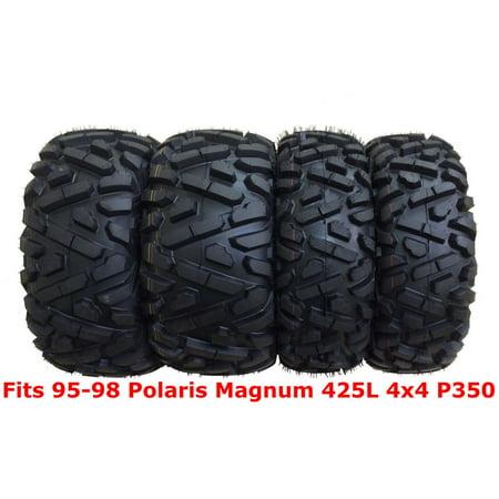 - Set 4 WANDA ATV tires 25x8-12 & 25x11-10 for 95-98 Polaris Magnum 425L 4x4 P350