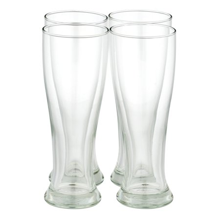 Libbey Midtown Pilsner Glass, Clear - 4 PC, 4.0 PIECE(S) 16 Ounce Pilsner Mug