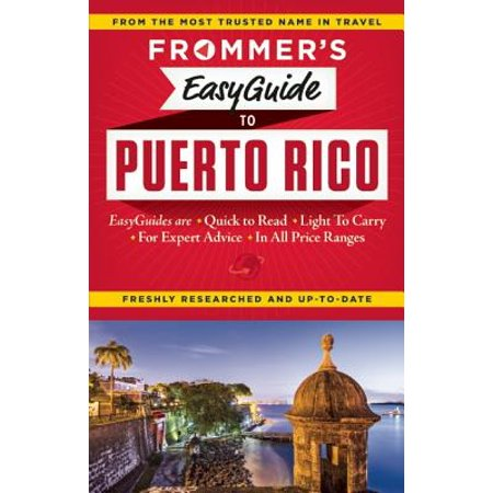 Frommer's Easyguide to Puerto Rico (Puerto Rico Costume For Boys)