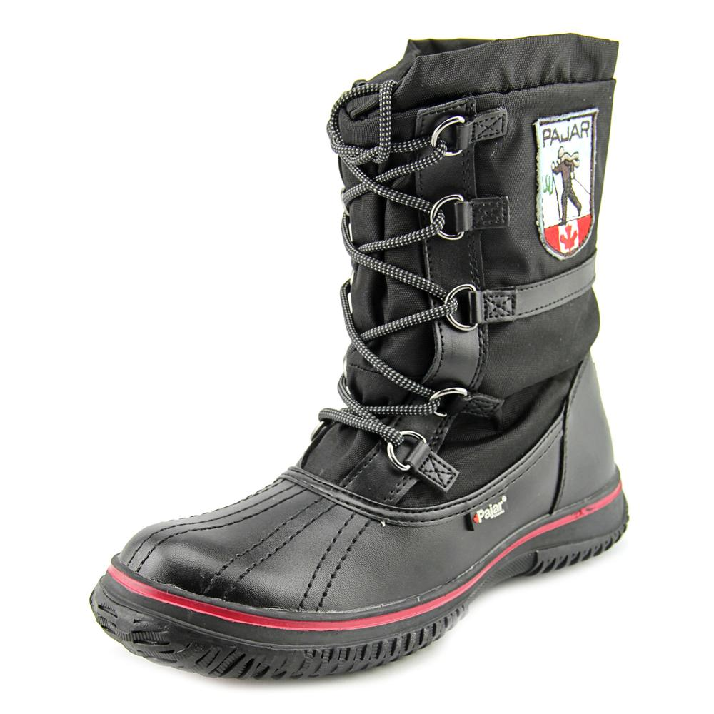Pajar Grip Low Women  Round Toe Canvas  Snow Boot