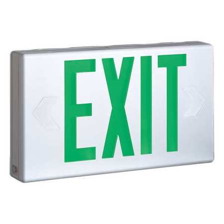 Cooper Lighting Exit Sign Less Than 1 0w Red Or 2 Lpx7