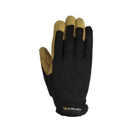 Gordini Usa A606BLKBLY L Work Gloves, Ventilated, Black, Large