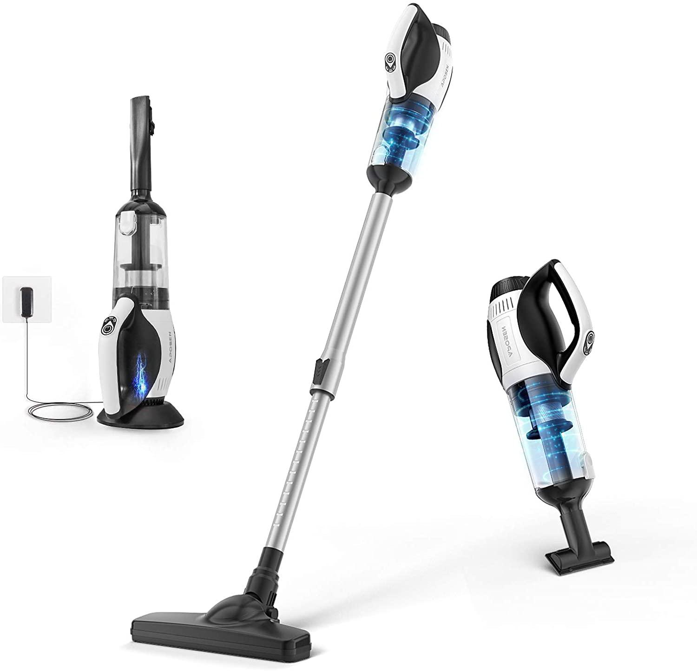 APOSEN Cordless Vacuum Cleaner, Fast Charging Stick Vacuum