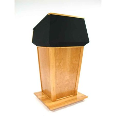 Executive Wood Presidential Bulletproof Wood Podium  403 Product Photo