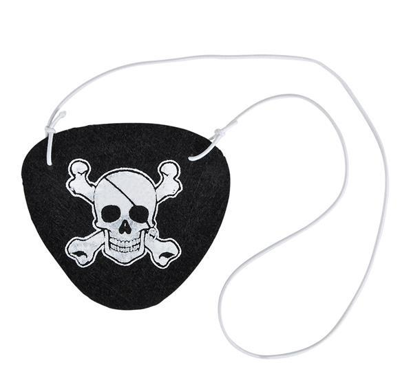 "2.5"" FELT PIRATE EYE PATCH, Case of 288"