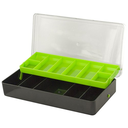 Multi-Level Fishing Tackle Box, Easily organize hooks, lures, bait and more with this multi-level fishing tackle box... by