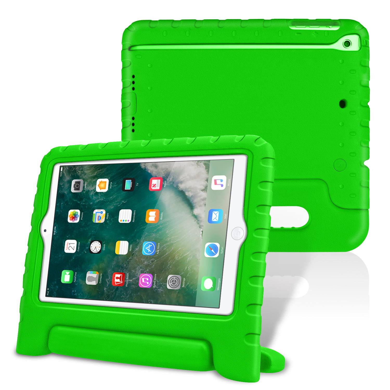 iPad mini 3 / iPad mini 2 / iPad mini Kiddie Case - Fintie Kids Friendly Cover Light Weight Shock Proof, Green