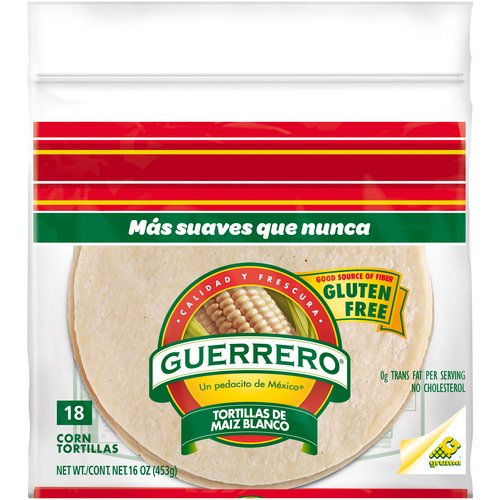 "Guerrero Corn 6"" Tortillas, 18 ct"