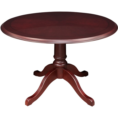 "Regency 42"" Round Conference Table, Mahogany"