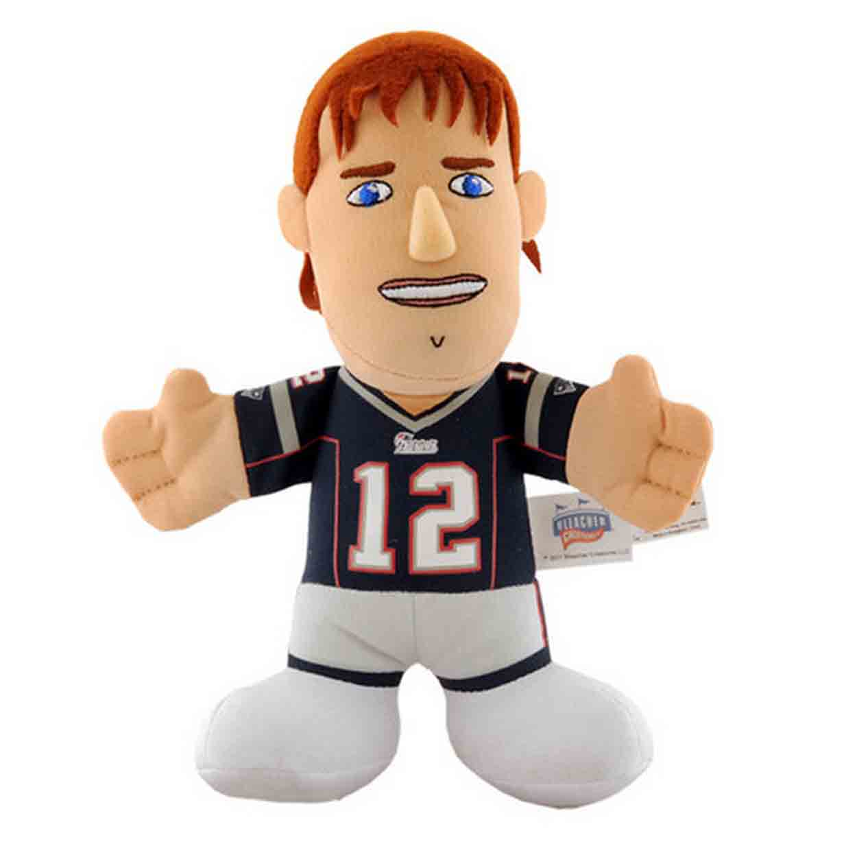 "Bleacher Creatures 7"" Plush Figure - New England"