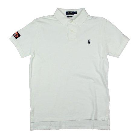 Polo Ralph Lauren Mens Textured Custom Fit Polo Shirt