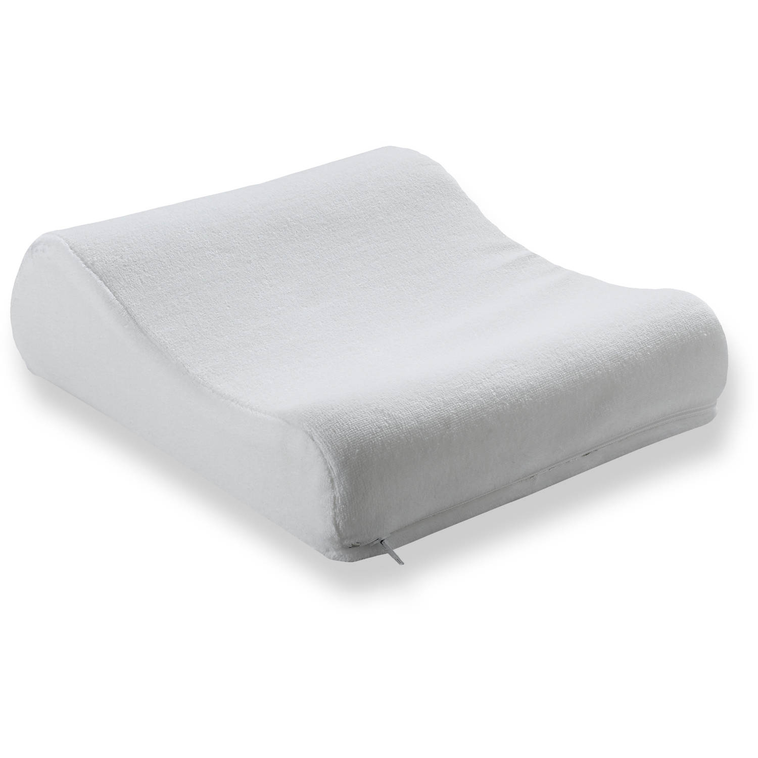 beautyrest lumbar memory foam pillow with removable cover walmartcom