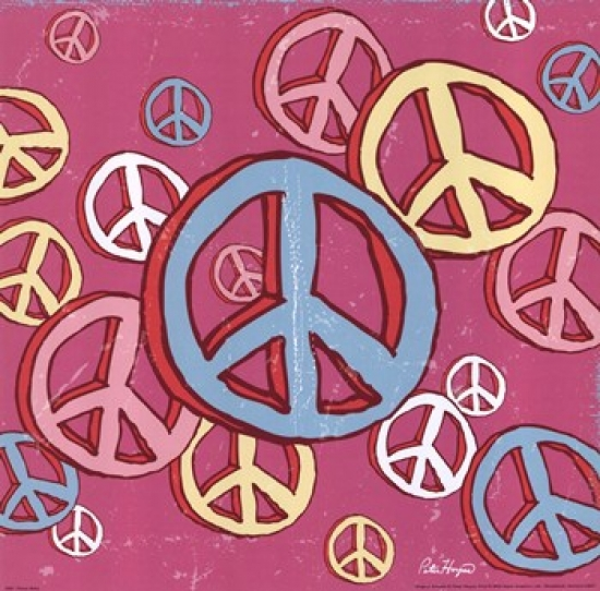 Peace Baby Poster Print by Peter Horjus (12 x 12)