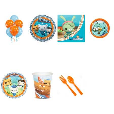 Octonauts Party Supplies Party Pack For 16 With Balloon Bouquet](Octonauts Birthday Party)