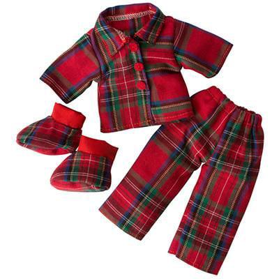 (Elf Magic Yuletide Dreams Pajamas & Slippers)