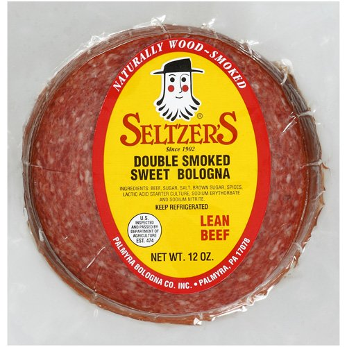 Seltzer's Double Smoked with Lean Beef Sweet Bologna, 12 oz