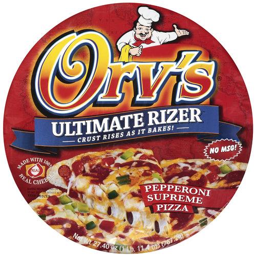 Orv's Ultimate Rizer Pepperoni Supreme Pizza, 27.4 oz