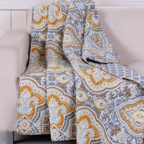 Greenland Home Fashions Valhalla Cotton Throw