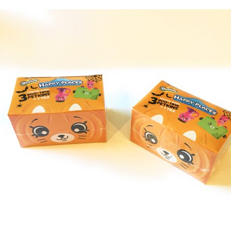 Shopkins Happy Places Halloween Blind Boxes (2-pack bundle) - Happy Halloween Nascar