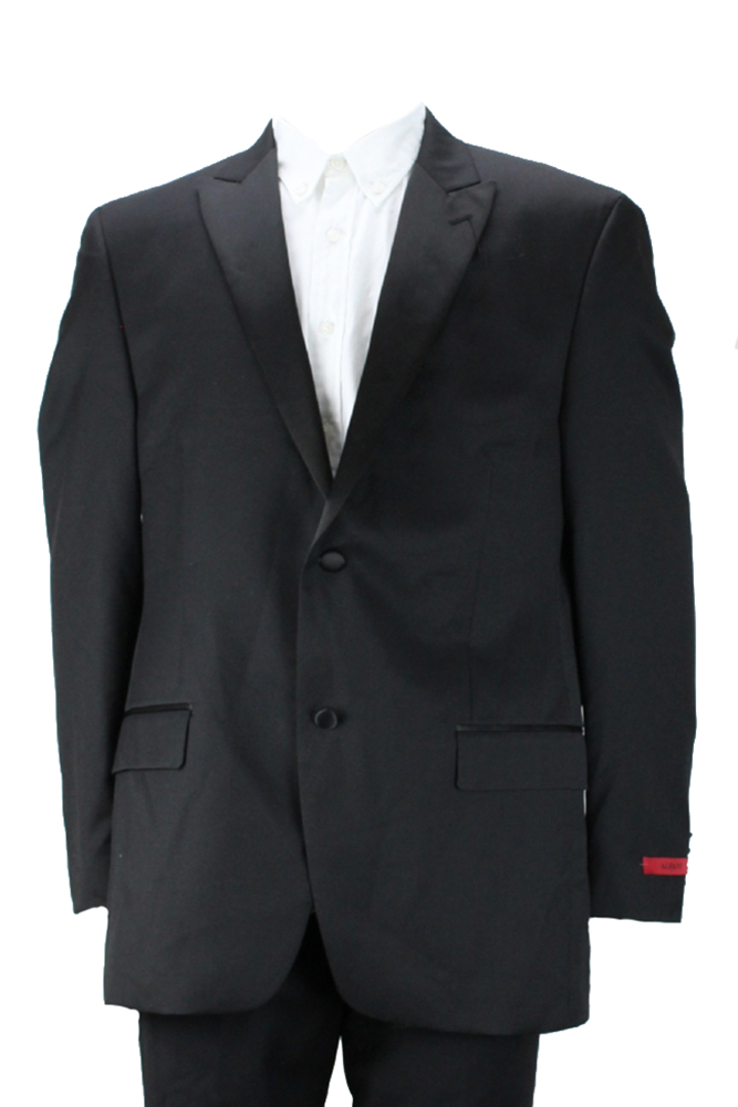 Alfani Black Streamlined Tuxedo Jacket 38S by