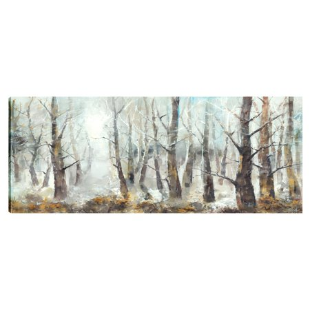 ArtMaison Canada Into the Forest I Wall Art - 50W x 20H (50w Wall)