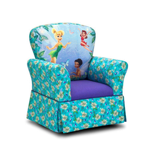 Kidz World Disney Kids Fairies Skirted Rocking Chair