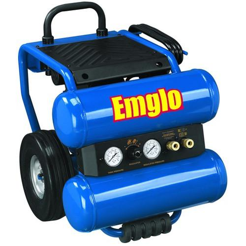 Emglo EM810-4M 1.1 HP 4 Gallon Oil-Lube Dolly-Style Twin ...